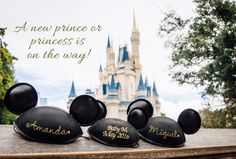 Disney baby announcement. Mickey baby announcement.