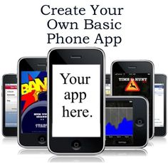 How to Make Your Own Basic Mobile/Cell Phone App.  #iPhone, #Android, #Blackberry, #Windows, #HTML5  http://www.ebay.co.uk/itm/CREATE-YOUR-OWN-PHONE-APP-iPhone-iPad-Android-Blackberry-Windows-HTML5-/390583994903?pt=US_Other_Cell_Phone_Accessories=item5af09eca17