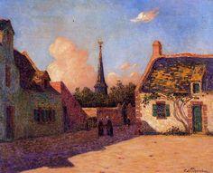 Ferdinand du Puigaudeau (1864-1930) French Impressionist Painter ~ Blog of an Art Admirer