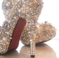 Pearl shoes :) by JenniferCor