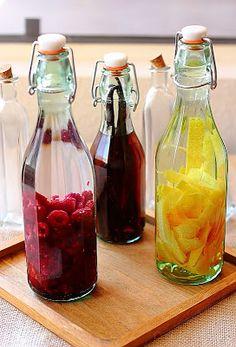Home brews flavored vodka etc