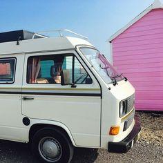 Holiday Beach, Vw Camper, Campervan, Recreational Vehicles, Surfing, Sea, Surf, The Ocean, Ocean