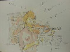 Jovem violinista 1