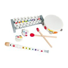 Discover the Confetti Musical Set from Janod. Shop Musical and more from Maisonette's curated selection. Toddler Gifts, Kids Gifts, Baby Toys, Kids Toys, Children's Toys, Traditional Toys, Musical Toys, Tambourine, Music For Kids
