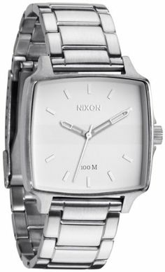 Nixon Cruiser Watch White, One Size NIXON. $104.00. Band color: silver. Brand:Nixon. Model: A357100. Condition:brand new with tags. Dial color: white. Save 31%!