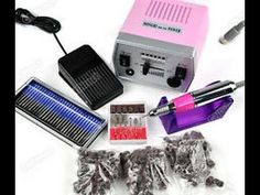 DEMO & HOW TO: **USING A ELECTRIC NAIL DRILL**