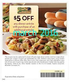 Olive Garden Coupons Ends of Coupon Promo Codes MAY 2020 ! Garden the of with known so experience website, italy. the they presentabl. Easy Chicken Recipes, Healthy Dinner Recipes, Olive Garden Coupons, Free Printable Coupons, Dinner Entrees, Olive Gardens, Grocery Coupons, Meals For Two, Family Meals