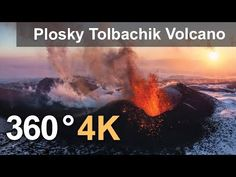 Plosky Tolbachik Volcano, Kamchatka, Russia, 2012   360° Aerial Panoramas, 360° Virtual Tours Around the World, Photos of the Most Interesting Places on the Earth