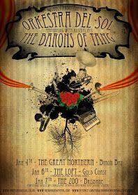 reverbia: T.B.O.T. & Orkestra Del Sol Tour Poster