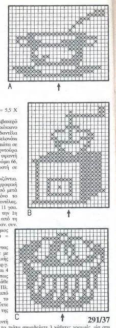 "Photo from album ""Burda special on Yandex. Filet Crochet, Crochet Chart, Crochet Motif, Crochet Doilies, Crochet Stitches, Knit Crochet, Crochet Patterns, Cross Stitch Bookmarks, Cross Stitch Heart"