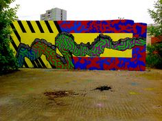 abstract streetart cruxberry
