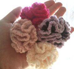ふわふわフリルのヘアゴム♪の作り方|編み物|編み物・手芸・ソーイング|アトリエ