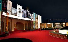 Render Design, International Film Festival, Cairo, Landscape Design, Opera House, Theatre, 3 D, Red Carpet, Behance