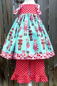 Nutcracker Knot Dress Only 612 months 1218 by firefliesandmudpies, $42.00