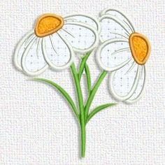 Adorable Applique   daisys free
