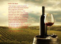 SONETOS E CIA ETC : Vinho De Baco * Antonio Cabral Filho - RJ