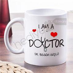 Doktora Hediye Steteskop Tasarım Kupa
