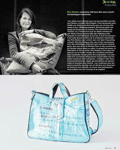 Nina Raeber ist der kreative Kopf hinter den auf unserer Plattform sehr beliebten Recycling-Taschen von coll.part.  http://www.faircustomer.ch/de/haendler.html?suppliers.detail_id=115&id=115