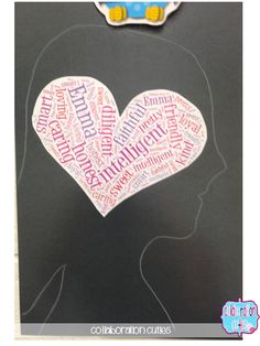 e0fecef1f0 A Back to School Idea for Building Student Self-Concept- Adjective  Silhouettes  Sparking