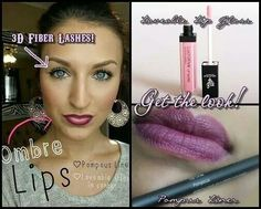 Cool tip: ombre lips