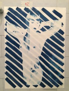 Jenny mirtillo  Cianotipia  50x70 cm