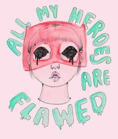 Con papel rosa, corazones, amor por la moda, por ella misma y con muchas preguntas existenciales: Así comenzó el blog Ambivalently Yours de una estudiante de moda que a través de ilustraciones ...