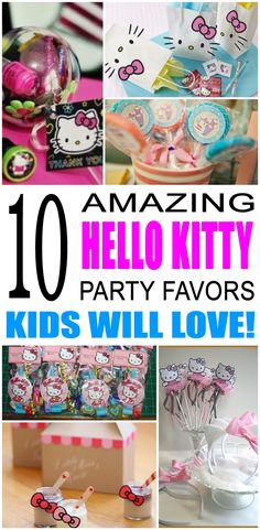 Fun hello kitty party favor ideas that kids and teens will love. Try these simple diy hello kitty party favors for boys and girls. Here are some easy gift bags, treat bags, and more birthday ideas to say thank you to the friends of that special birthday child.