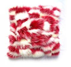 Red And White, Fur Coat, Fashion, Moda, Fashion Styles, Fasion, Fur Coats