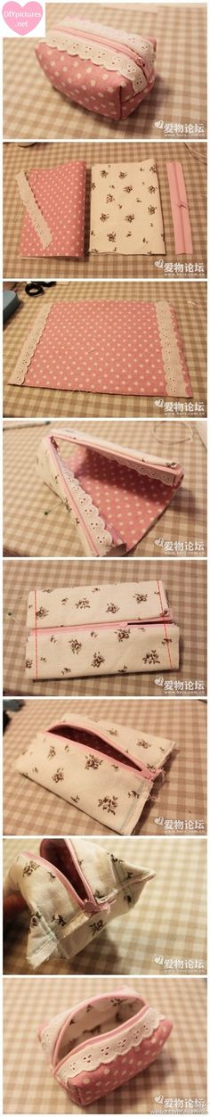 DIY Makeup Bag More