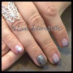 Pretty French Glitter Fade w/ Accent Finger #nails #nail #fashion #style #TagsForLikes #cute #beauty #beautiful #instagood #pretty #girl #girls #stylish #sparkles #styles #nailart #art #love #glitter #shiny #french #frenchnails #gelpolish #nailswag #gelnails #orange #yellow #follow #loveadorabella