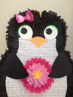 Piñatas~Girl Penguin Piñata