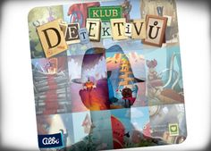 Klub detektivů - hra od Albi Baseball Cards, Cover, Sports, Books, Hs Sports, Libros, Book, Sport, Book Illustrations