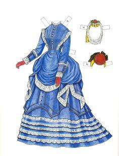Godey's Fashions 1860-1879 - Marie | Gabi's Paper Dolls