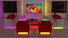 decoracion con iluminacion led - Buscar con Google
