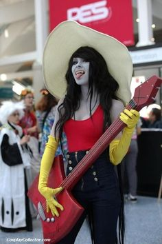Marceline the vampire queen #adventuretime totally want to do this for halloween this year