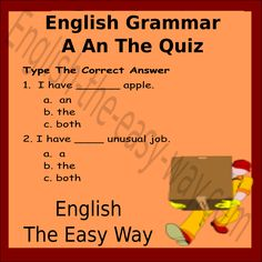 Post your answers!!! Share with your friends...  #EnglishGrammar