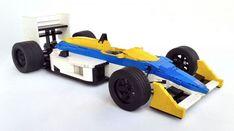 LEGO 1986-7 Williams Honda FW11 by Idihnab Szalab