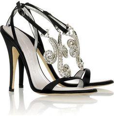 Giuseppe Zanotti Taz Swarovski embellished sandals