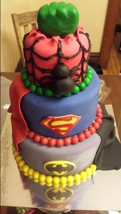 Hero cake. One of my most frequently ordered cakes.