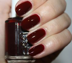 Essie Bordeaux - perfect for Autumn ESSIE - STYLE - RECESSION2
