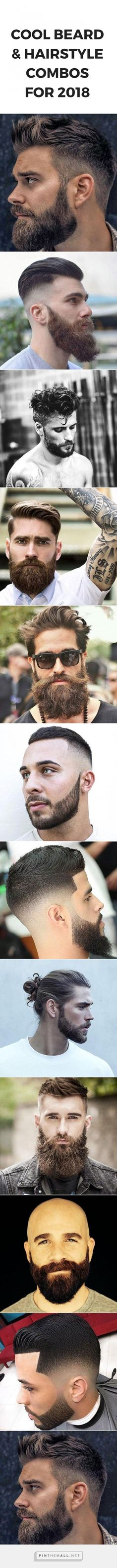 COOL BEARD AND HAIRSTYLE COMBOS FOR MEN #hairstyles #grooming