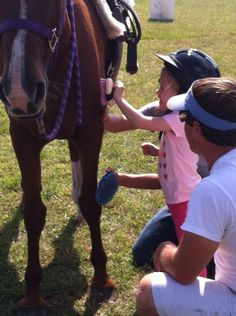 Horse-assisted therapy at Trail of Faith Farms