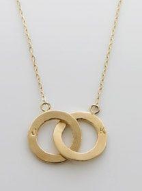 eternity circle necklace - jennifer fisher