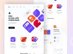 banking website Bank_website_concept by Sudhan Gowtham for Orizon on Dribbble Ui Ux Design, Design Agency, Homepage Design, Design Awards, Creer Un Site Web, Ui Design Inspiration, Moodboard Inspiration, Daily Inspiration, App Landing Page