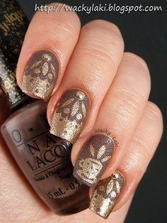 Wacky Laki: Coffee #nail #nails #nailart