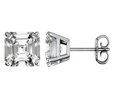 Cubic Zirconia Stud Earrings Are So Much More Stylish.