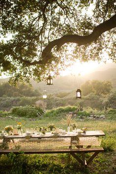 Colgar faroles de los arboles a diferentes alturas Vivir En El Campo fadfc0ad240