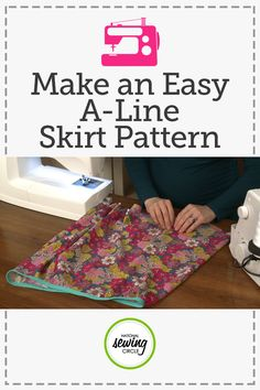A-Line Skirt: Make an Easy A Line Skirt Pattern | National Sewing Circle