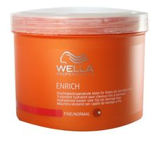 Wella Professionals Enrich unisex, Feuchtigkeitsspendende Mask für feines bis normales Haar 500 ml, 1er Pack (1 x 1 Stück)   Your #1 Source ...