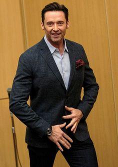 Hugh Michael Jackman, Hugh Jackman, Jack Hughman, Australian Actors, Wolverine, Movie Stars, Red Carpet, Interview, Suit Jacket